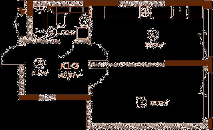 Квартира K1-3.1
