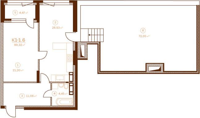 Квартира К1-1.6