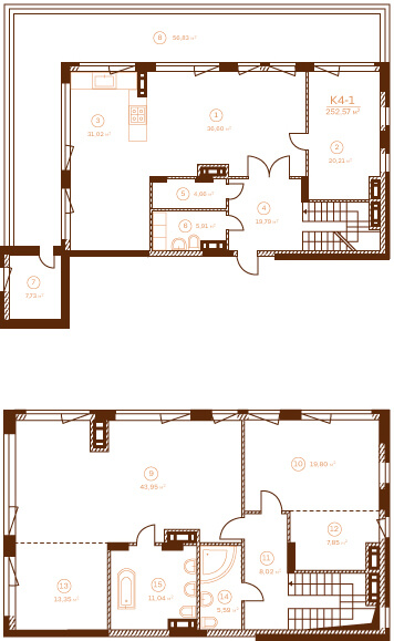 Квартира К4-1.