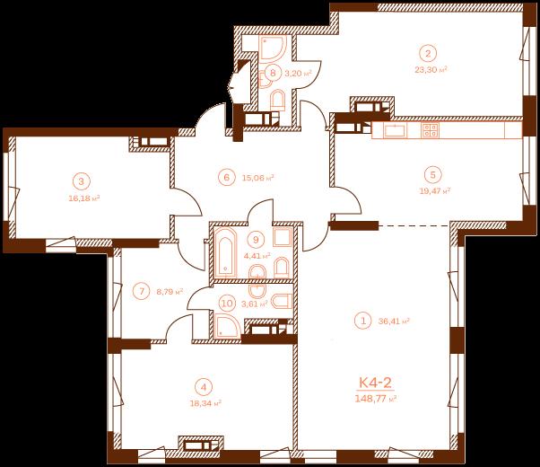 Apartment K4-2.